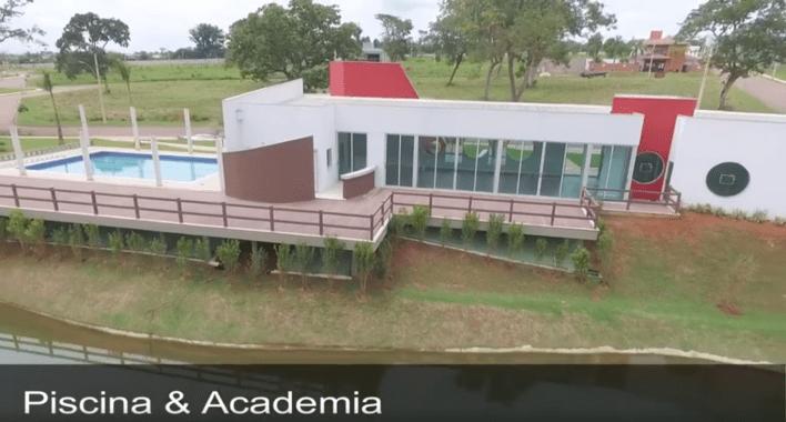 Condomínio do Bosque 2 piscina e academia